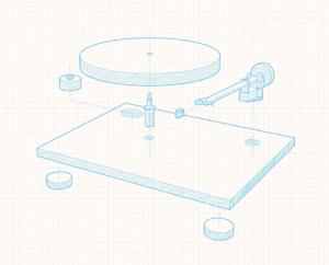 Anatomie du tourne-disque : quels éléments le compose ?